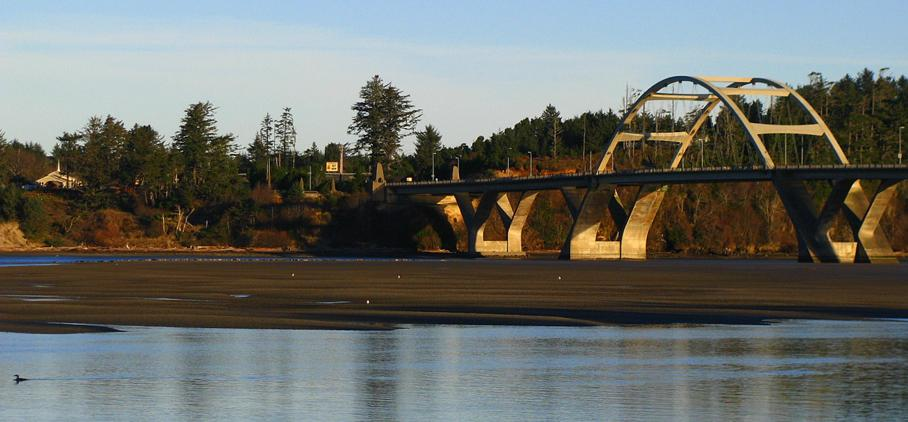 Alsea Bay Bridge, Waldport, OR